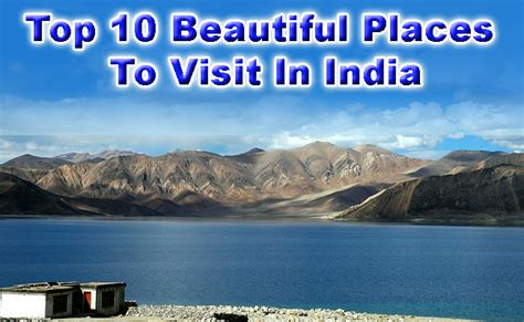 top 10 beautiful places to visit in india