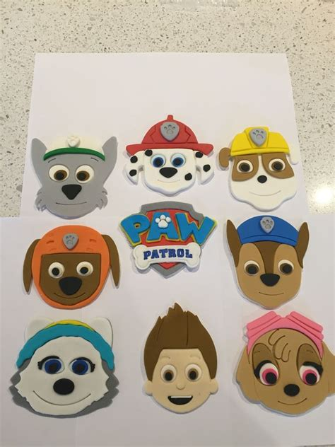 Paw Patrol Cake Decorations by Paw Patrol Cake Toppers Ebay