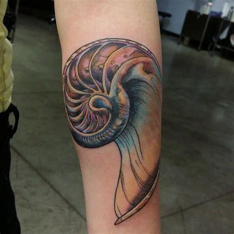 nautilus tattoo best 25 nautilus ideas on fibonacci