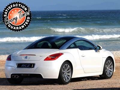 cheap automatic peugeot peugeot rcz car lease is cheaper at cars2lease