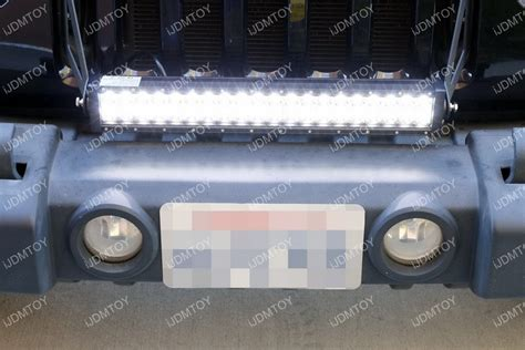 jeep light bar install how to install jeep wrangler led light bar system