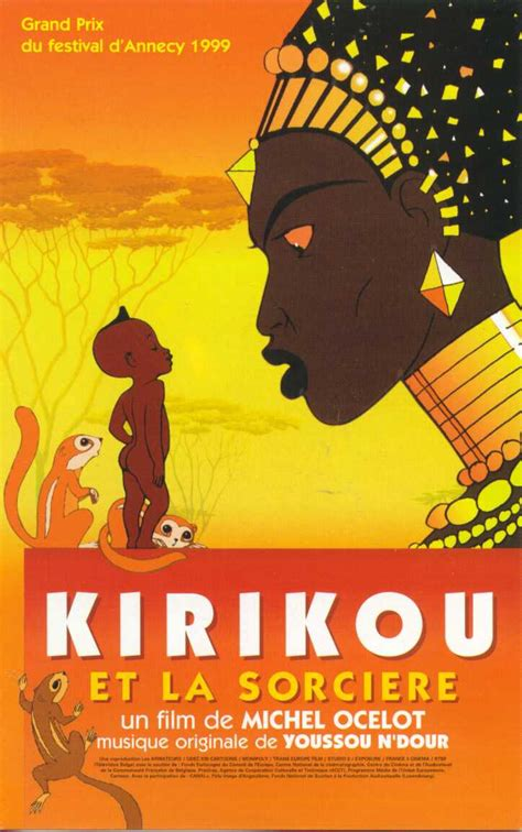 libro la sorcire dans les film kirikou et la sorci 232 re par baram graines de lecteurs