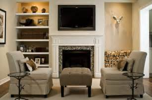 bookshelves next to fireplace tv fireplace floating shelves on either side but
