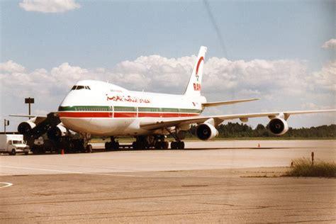royal air maroc 747 airline history non twa royals and royal air maroc