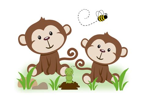 monkey wall murals monkey wall mural safari jungle animals nursery