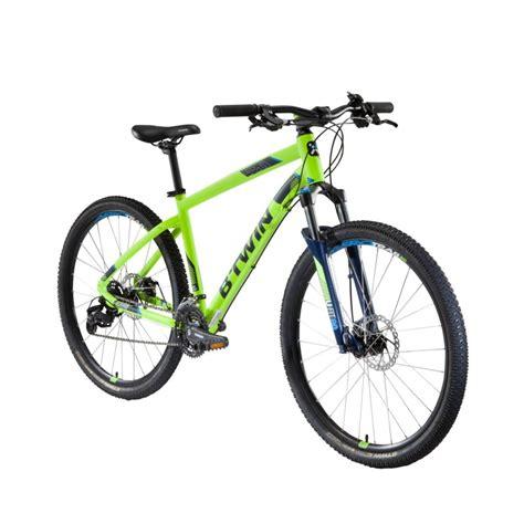 E Bike Decathlon by Rockrider 520 Mountain Bike 27 5 Quot Yellow Decathlon