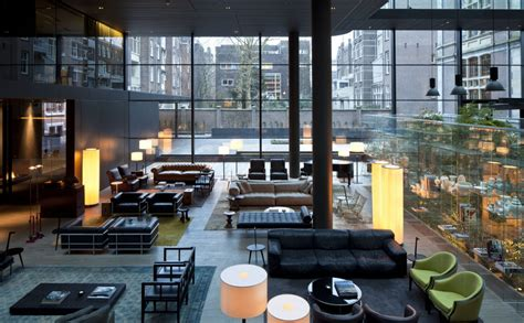 Living Room Bar Amsterdam Conservatorium Hotel In Amsterdam By Piero Lissoni