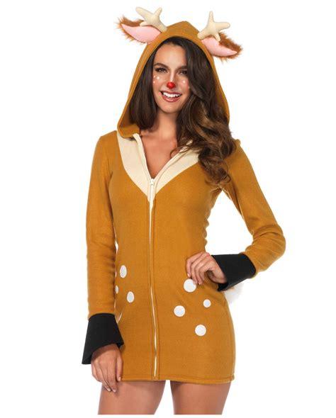 bambi reh kostuem fuer damen fuer fasching karneval universe