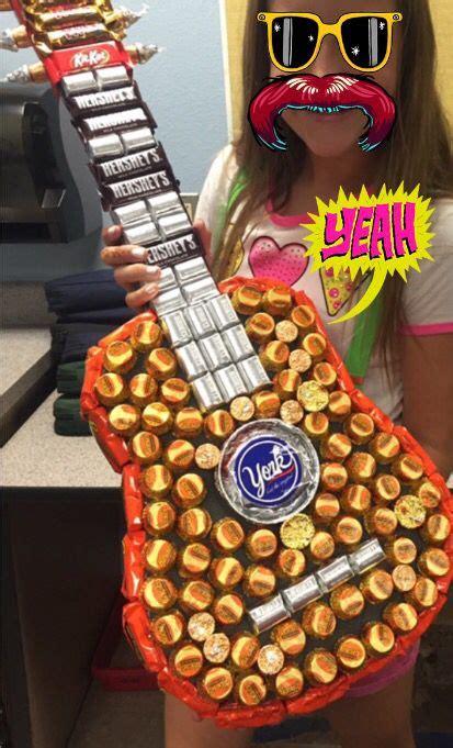 candy guitar     year teacher gift candyguitar teachergift rocknroll interior