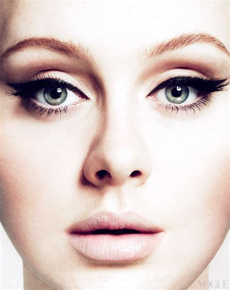 Makeup Adele makeup files vogue march 2012 cover adele