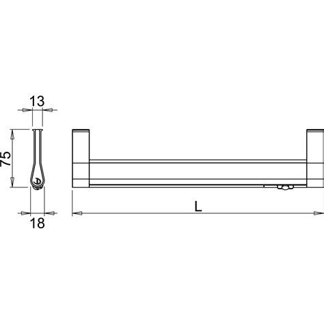 goccia lade led kleiderstangenleuchte goccia sensor 2 88 watt
