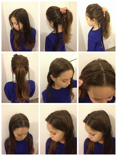 how to do a headband braid step by step fashion on run january 2014