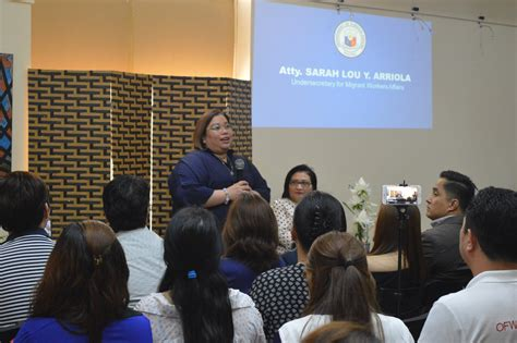 ofw in dubai provides lawyer 46 pcg staff providing services to 500 000 ofws the