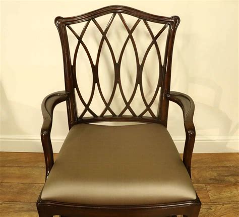 mahogany dining room chairs mahogany chippendale chairs for formal dining rooms