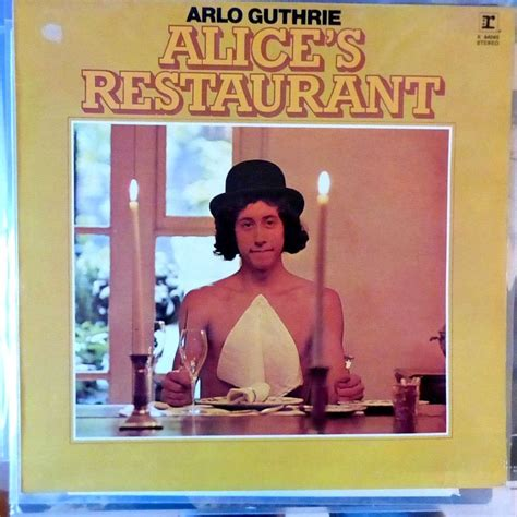 arlo guthrie s restaurant artist arlo guthrie s restaurant by arlo guthrie lp with blackcircle