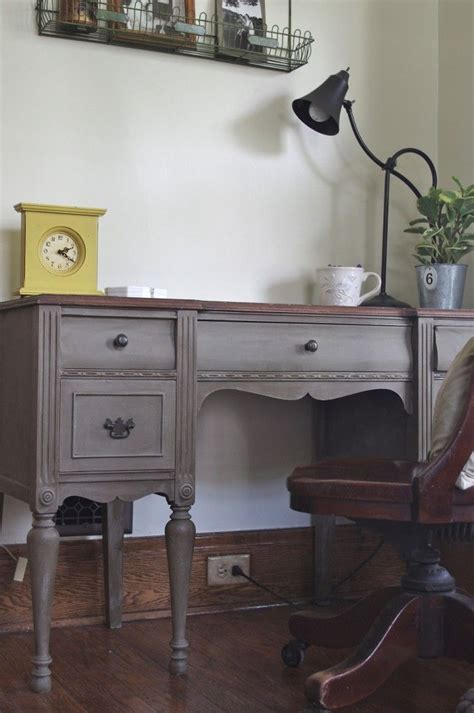 Ascp In French Linen Annie Sloan Chalk Paint Ascp Painted Office Furniture