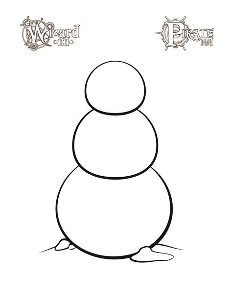 blank snowman template www imgkid com the image kid