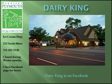 dairy king plymouth shops city of plymouth downtown development authority