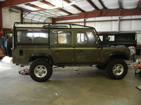 land rover green willow green land rover defender 110 racing
