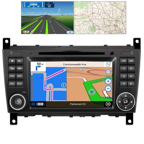 mercedes  class  android gps bluetooth car player