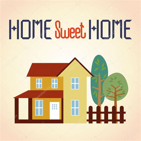 home sweet home stock vector 169 izmask 9461612