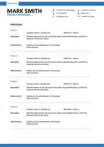 modern project manager resume 1 templates ideal for