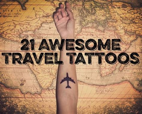 travel inspired tattoos 17 best images about travel inspiration reiseinspiration