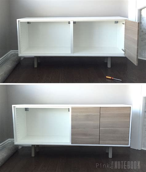 ikea console hack ikea sektion hack tv console pink notebook