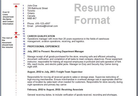 format and customize your resume i will also send