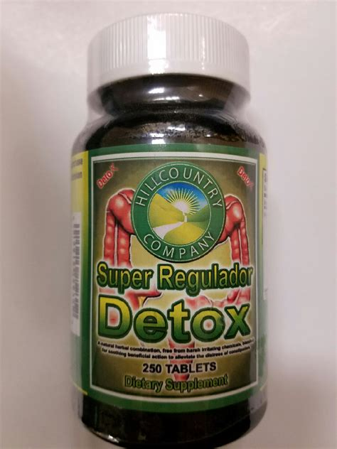 Detox Hill by Regulator Detox 100 Tablets Hill Country Co