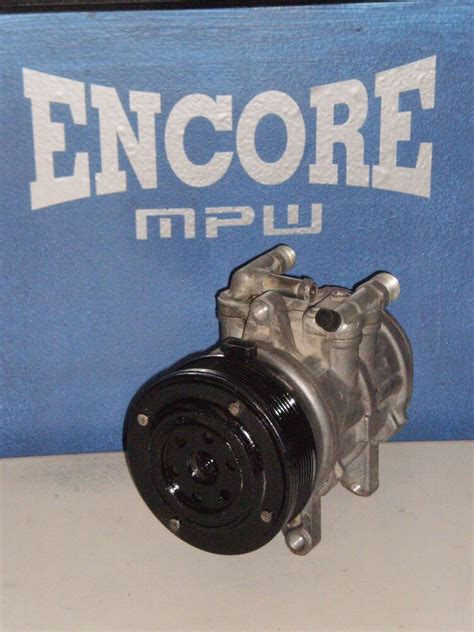 ford mustang air conditioning compressor pump