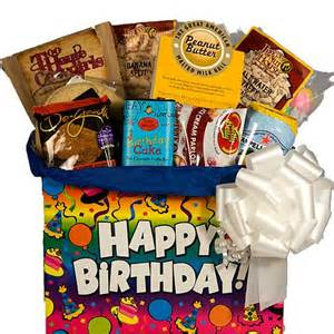 birthday gift basket birthday sweet gift basket