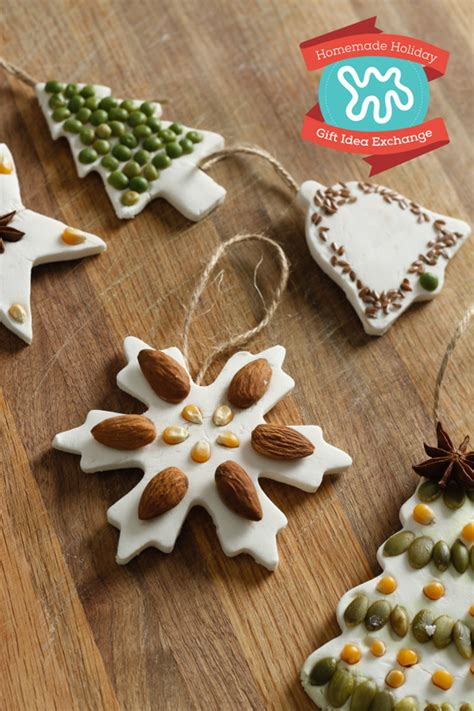 holiday crafternoon  easy salt dough ornaments