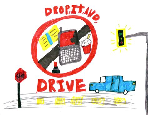 printable road safety posters distracted driving posters 1st annual distracted driving