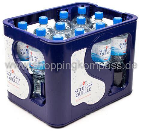 1 kasten wasser mineralwasser schloss quelle mineralwasser classic