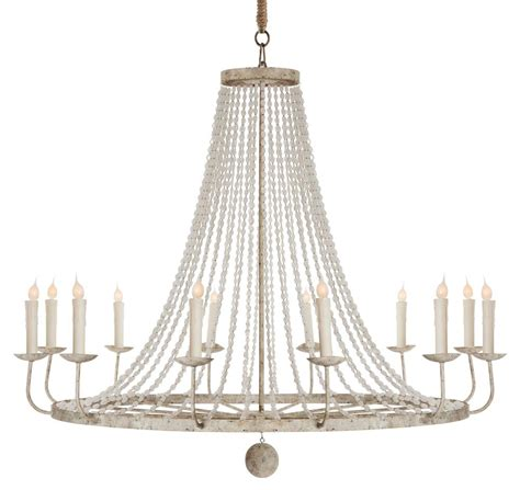 french country chandelier lighting naples french country classic beaded grey 12 light