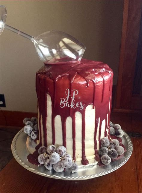 wine birthday decorations the 25 best birthday cake wine ideas on wine