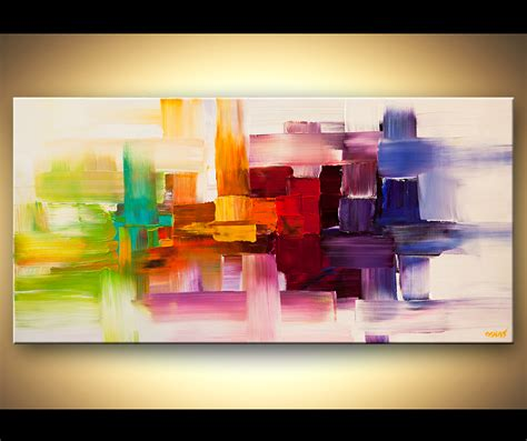 acrylic painting modern abstract by osnat tzadok may 2013