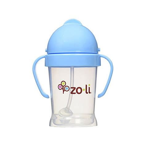 Zoli Bot Straw Sippy Cup 6oz Pink zoli bot straw sippy cup the edit