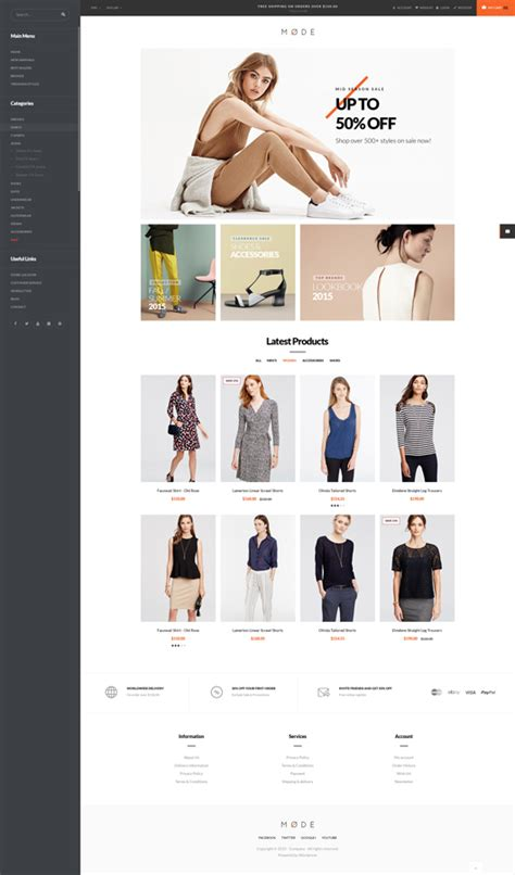 magento bootstrap themes free ves mode responsive bootstrap magento theme