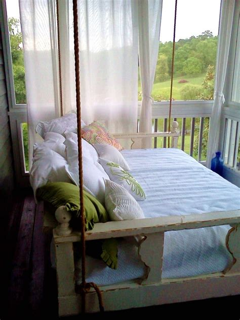 swinging porch beds 17 best images about swing beds on pinterest sleeping