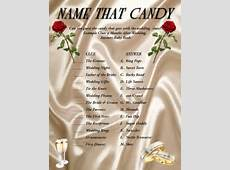 Bridal Shower Games: Name That Candy by AllThingsParty on Etsy
