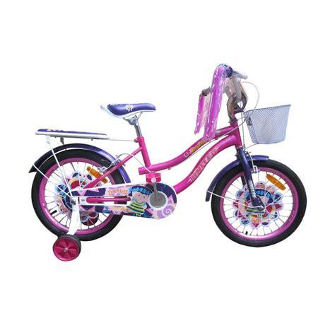 Roda Bantu Sepeda Anak United jual united joyfull sepeda anak 16 inch harga kualitas terjamin blibli