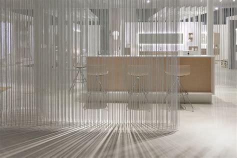 metal chain curtain talsee showroom by burkard meyer kriskadecor hochdorf