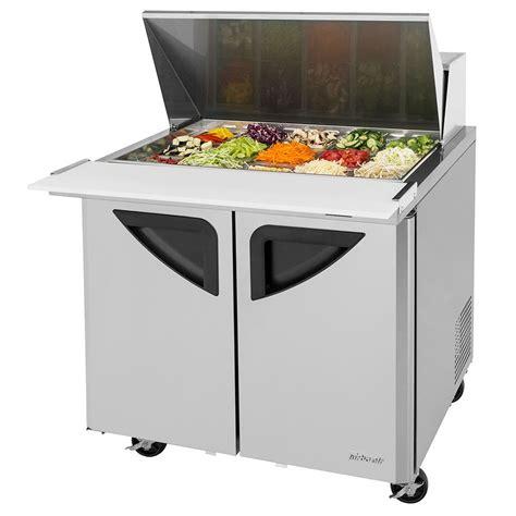 36 inch sandwich prep table turbo air tst 36sd 15 n6 36 quot sandwich salad prep table w