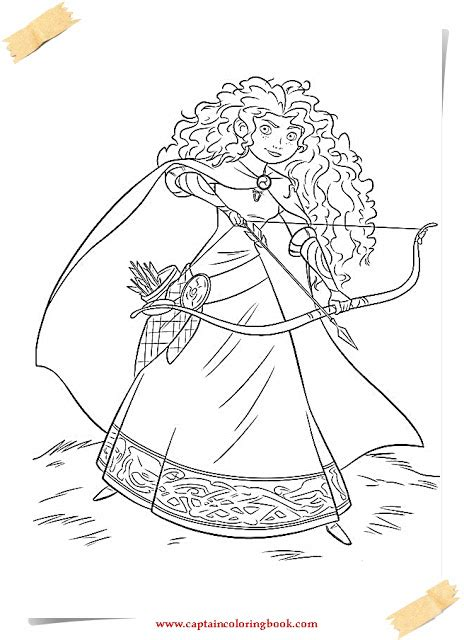 brave coloring pages disney brave coloring pages coloring page