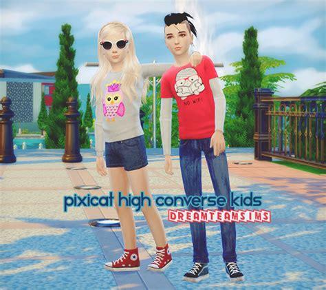 Converse Kid 4 pixicat high converse dreamteamsims