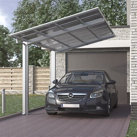 Alu Carport Bausatz by Aluminium Carport Bausatz Einzelcarport Freistehend Edel