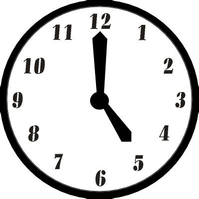 clock clipart 5pm pencil and in color clock clipart 5pm