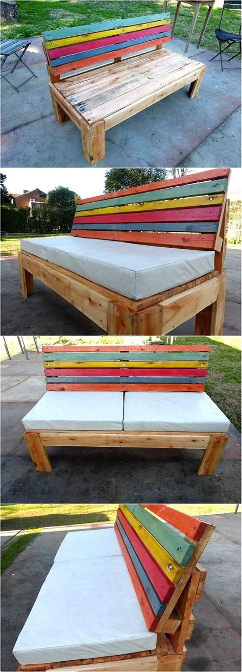 bench made with pallets best 25 pallet benches ideas on pinterest pallet bench